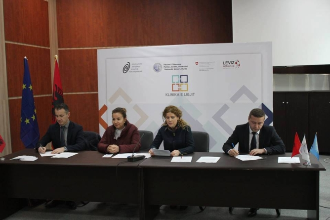 A new legal clinic in Durrës – Switzerland support