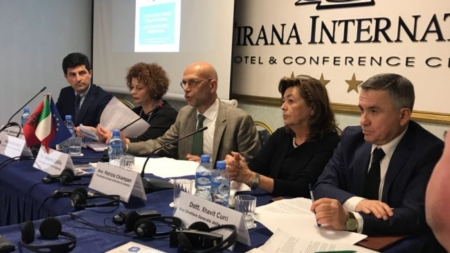 "Meeting with Italian entrepreneur, ""Protection of Italian Businesses in Albania"""