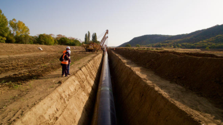 TAP pipes welded along 80% of route in Greece, Albania