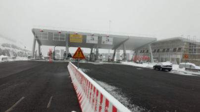 "The counters are tested on the highway  ""rruga e Kombit"", soon the payment application date"