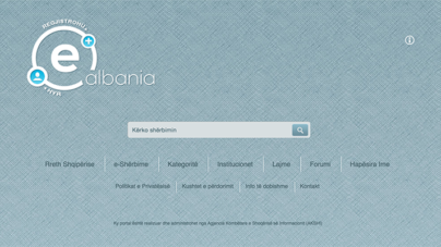 Increase the number of users on the e-Albania portal, 527 online services