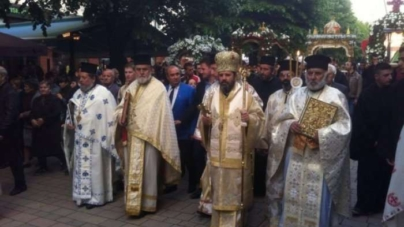 Orthodox believers in Korca- Black Friday