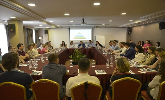 Regional Tax Directorate Tirana, joint information desk with small business