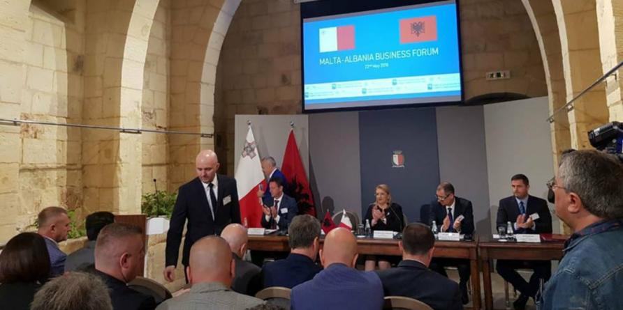 Business Forum Malta – Albania in Valletta and Gozo, Malta