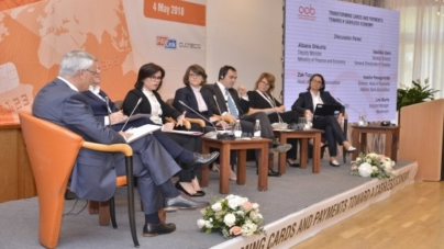 General Director of Taxation Mrs. Vasilika Vjero participated in the Card Forum organized by the Albanian Association of Banks