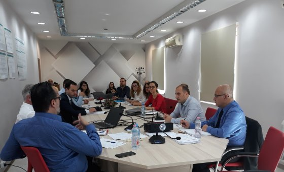 The GDT joint training in cooperation with USAID on the transfer of the prize