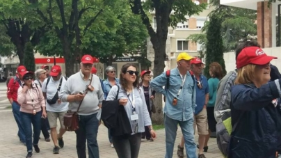 Increase in the number of foreign tourists visiting Albania