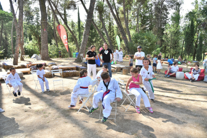 "CHILDREN OF DIFFERENT SOCIAL STRATA BECOME PART OF THE SUMMER CAMP ""SPORT FEST"""