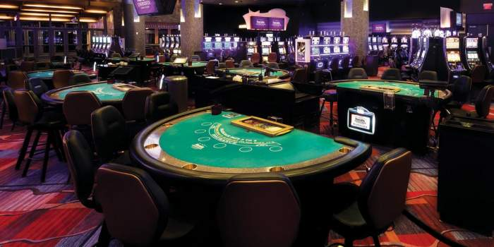 From 1 January 2019, the removal of casinos from urbanized areas