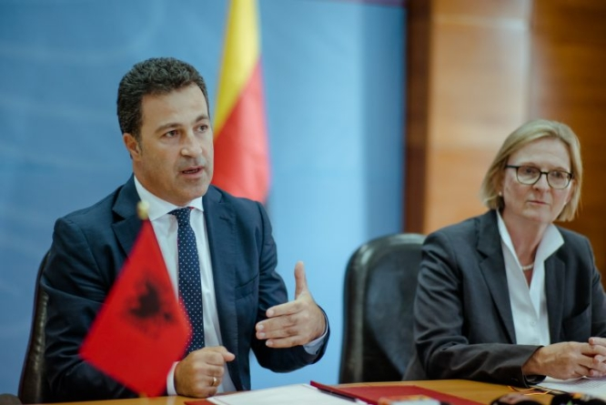 Agreement: 5m euros from German government for Rural Credit Guarantee Fund for the agricultural sector