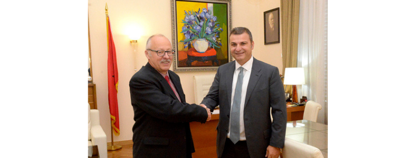 Governor of the Bank of Albania, Gent Sejko, meets the Ambassador of the Republic of Hungary in Albania Sh.TZ Lóránt Balla