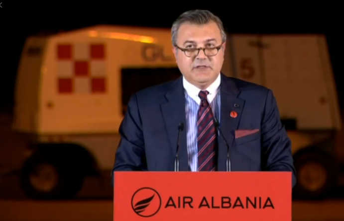 """AIR ALBANIA"", a bridge between Tirana and Istanbul"