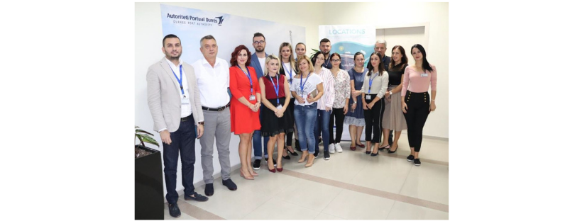 """LOCATIONS""  project collects interest groups in the port of Durres"