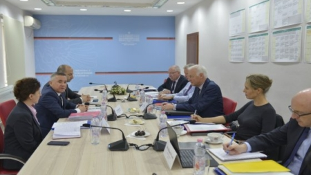 Meeting with the IMF mission on the progress made and the reforms undertaken by the Tax Administration