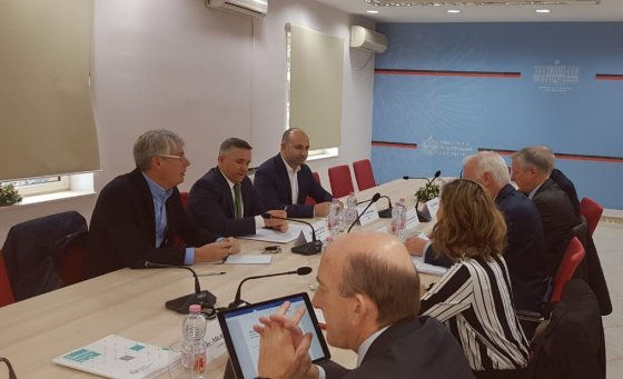 GDT closing meeting with the IMF, evaluated the progress for modernizing the system