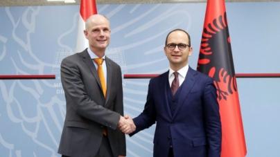 EU Integration, Bushati-Blok: Strengthen co-operation on the range of reforms. Netherlands, dedicated to Albania's EU membership
