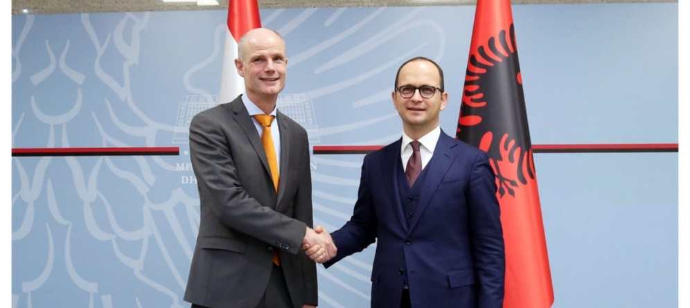 EU Integration, Bushati-Blok: Strengthen co-operation on the range of reforms. Netherlands, dedicated to Albania's EU membership