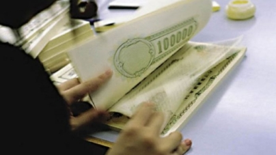 Interest rate on 10-year bonds fell to 5.85%