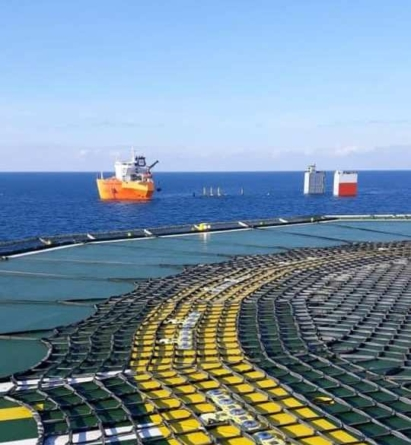 TAP's offshore pipeline assembly successfully completes the first phase