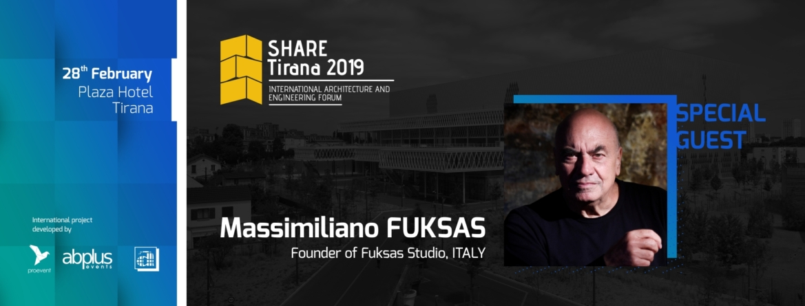"""From small stories to big histories"" – Arch. Massimiliano Fuksas"