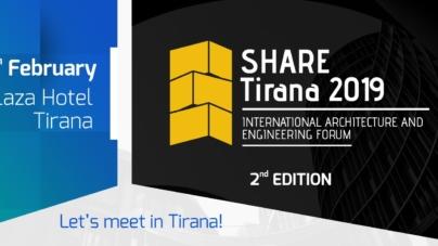 3 days untill SHARE Tirana 2019