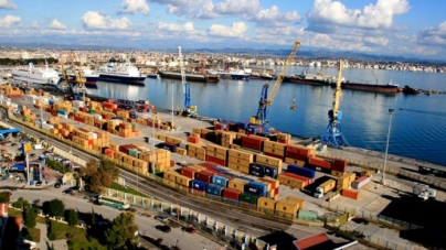 Commodity trade, China one of the four main partners of Albania