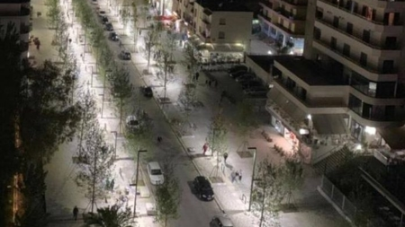 "Boulevard ""Ismail Qemali"", the newest tourist area of ​​Vlora"