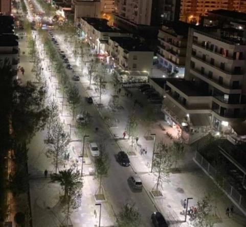 "Boulevard ""Ismail Qemali"", the newest tourist area of Vlora"