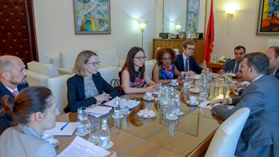 Sejko Governor Meeting with the World Bank Mission in Support of Macrofiscal Policies