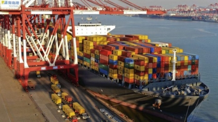 The volume of transport in the country's 4 ports increased by 7.1%