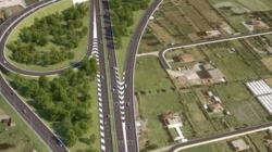 Milot-Balldren, part of the Blue Corridor, integrates the country's roads into pan-European infrastructure