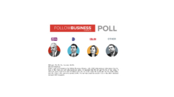 FBA poll: PS, 53.1%; the rest, 46.9%  Eduard Zaloshnja  From a poll commissioned by Follow Business Albania, with 2200 interviewees